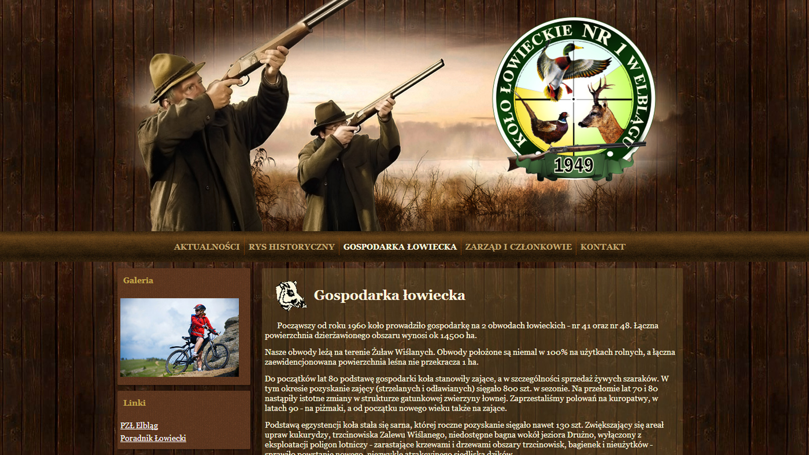 Strona Koła Łowieckiego