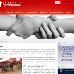 Strona Fundacji Ignatianum