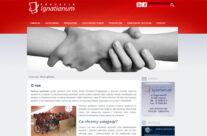 Strona internetowa Fundacji Ignatianum