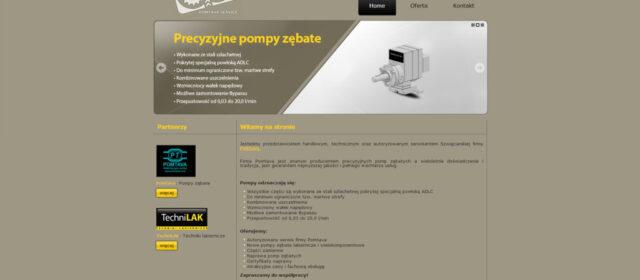 Strona internetowa Pomtava-Service.pl