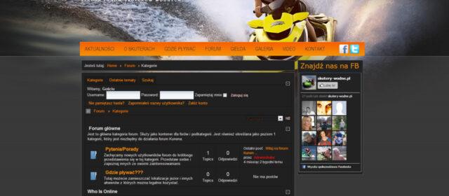 Strona internetowa Skutery-Wodne.pl