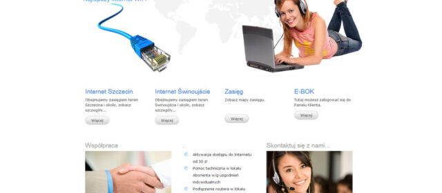 Strona internetowa SkyNet